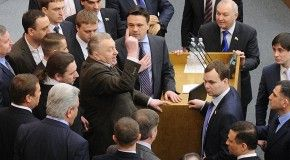 Госдума намерена просить президента о сокращении зарплат депутатам