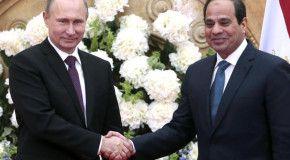 Россия будет сотрудничать с Египтом