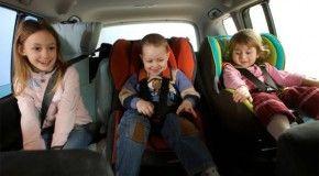 В России запретят использовать детские адаптеры для ремней безопасности