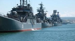 Начались учения Черноморского флота России