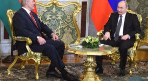 Путин заявил о взаимном признании виз с Беларусью