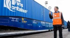Контейнерные ускоренные поезда пошли в порты